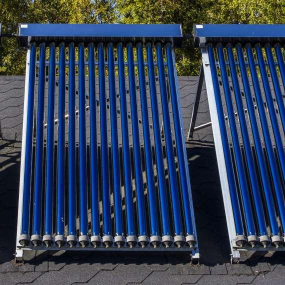 מערכת קולטים סולארית מרכזית
